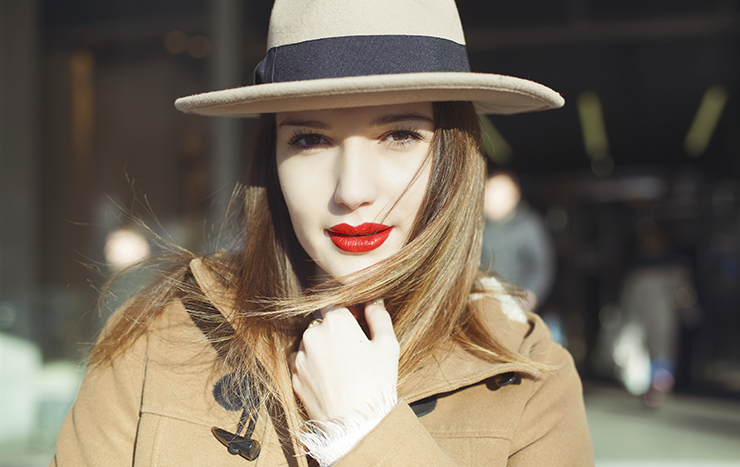 On our lips: Mulberry